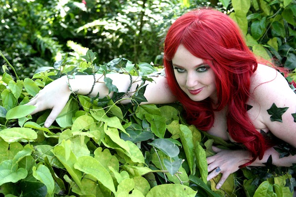 On Location Poison Ivy Cosplay
