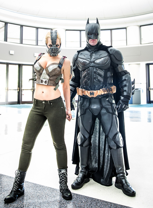 Lady Bane and Batman