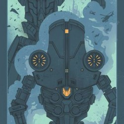Collectable Pacific Rim poster
