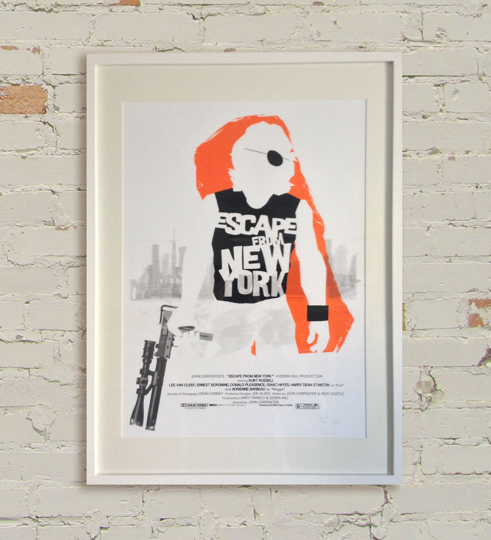 ESCAPE FROM NEW YORK FRAMED NEW 31-8-13