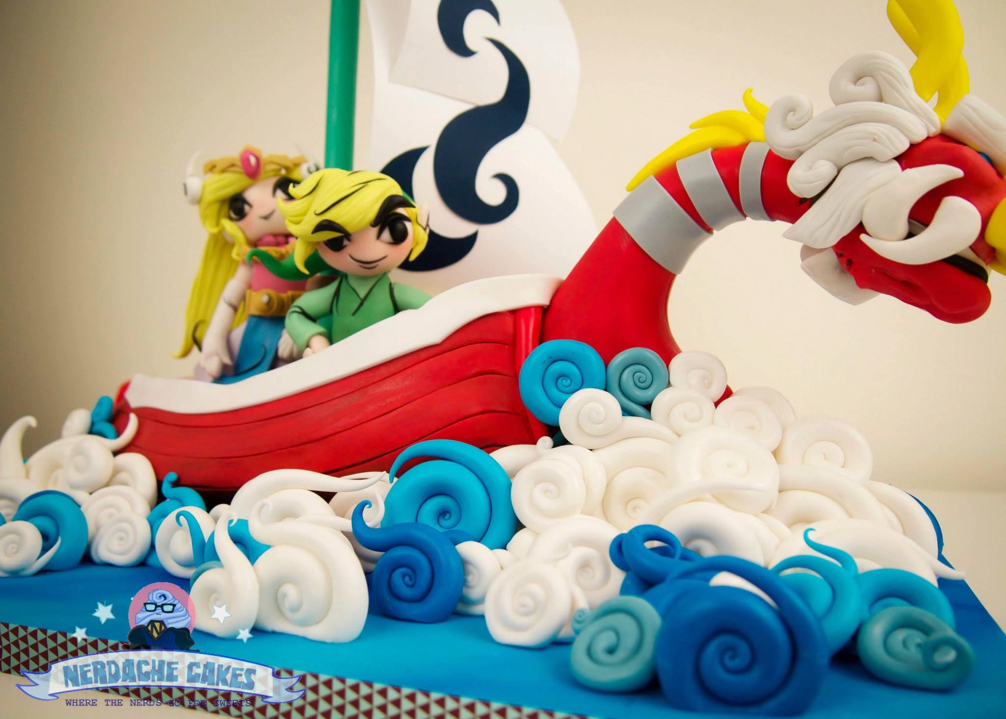 Too Good To Eat Legend Of Zelda Wind Walker Birthday Cake