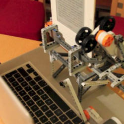 LEGO robot to combat DRM