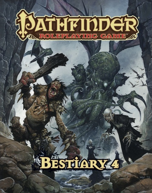 A look inside: Pathfinder's Bestiary 4