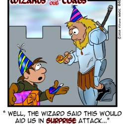 Wizards without Coats: Surprise!