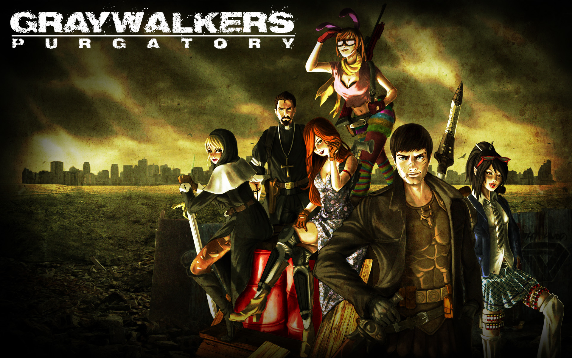 graywalkers wallpaper 1
