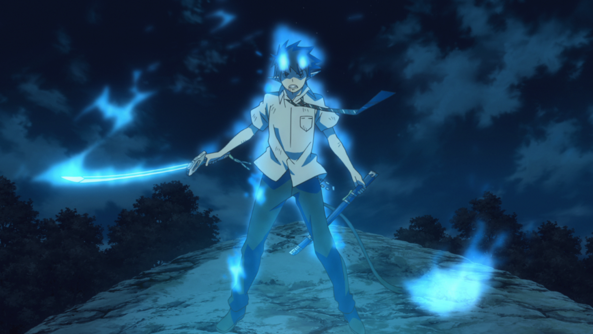 Blue Exorcist Wallpaper 1920x1080 Hd Wallpaper For Desktop
