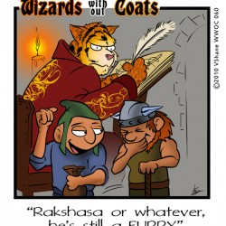 Wizards without Coats: Furry