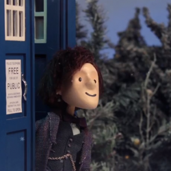 Doctor Who Puppet – A Timelord Christmas