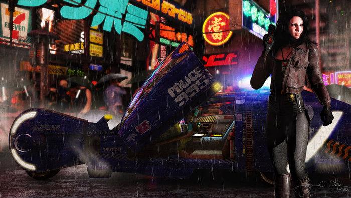 Cyberpunk RPG soundtracks kickstarter