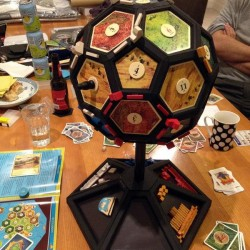 The science of the Catanosphere: Settlers of Catan globe