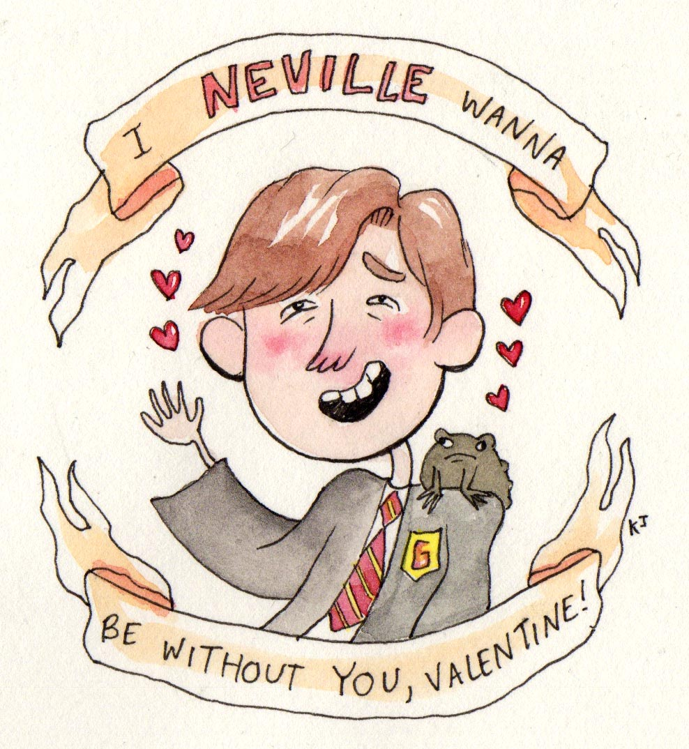 Harry Potter valentines day 2