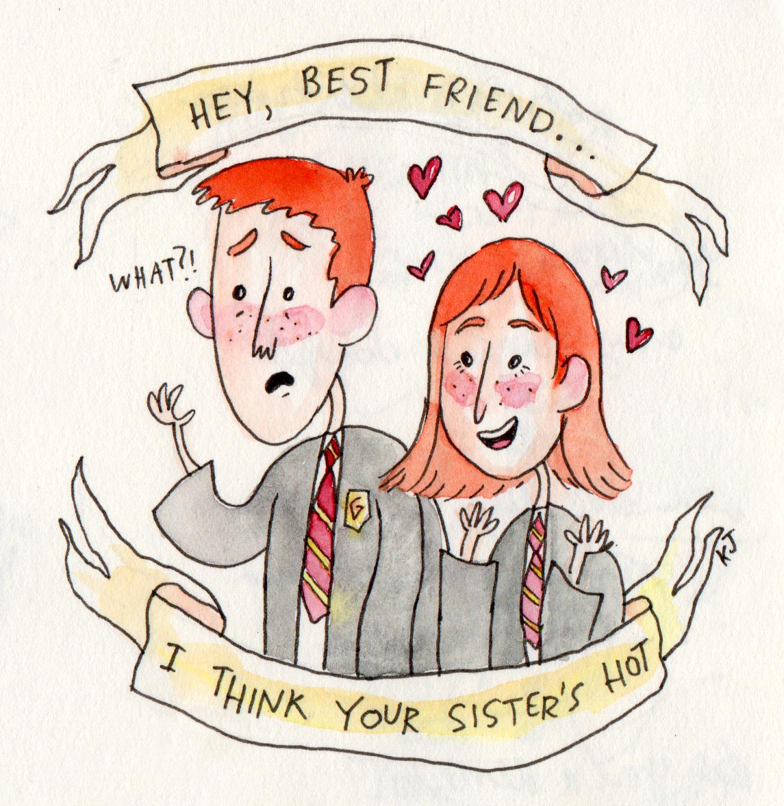 Harry Potter valentines day 5