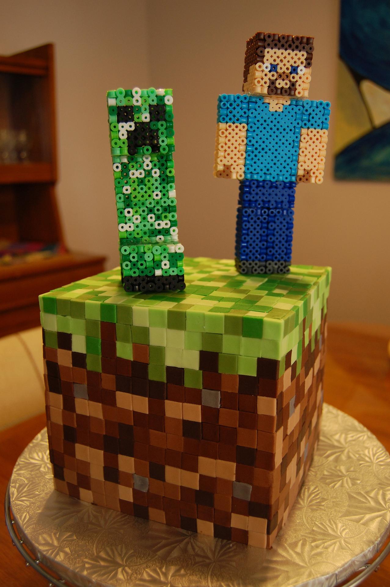 Minecraft Cake 2