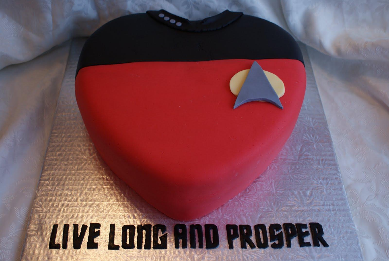 star trek valentine u0026 39 s day cakes