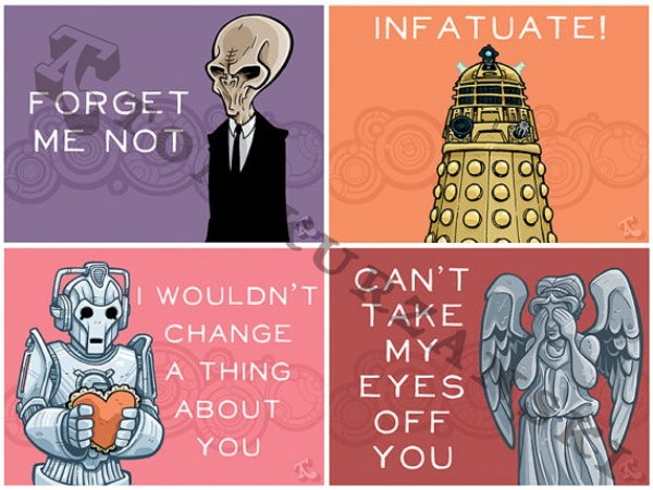 doctor who valentine s day cards
