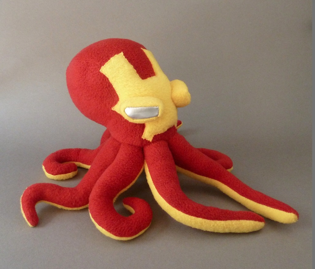Iron Man octopus 2