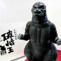 Limited edition Godzilla sake