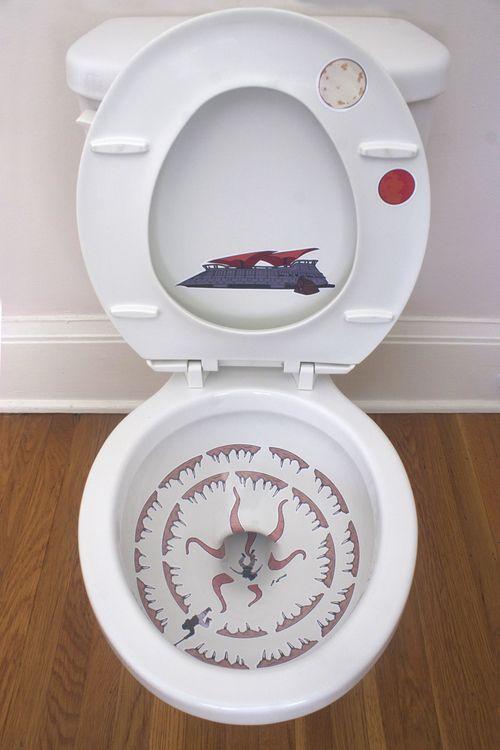 Strange Transform Your Toilet Into Star Wars Sarlacc Pit Evergreenethics Interior Chair Design Evergreenethicsorg