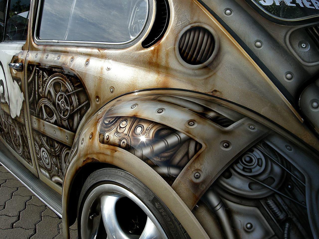 Herbie goes Steampunk 3