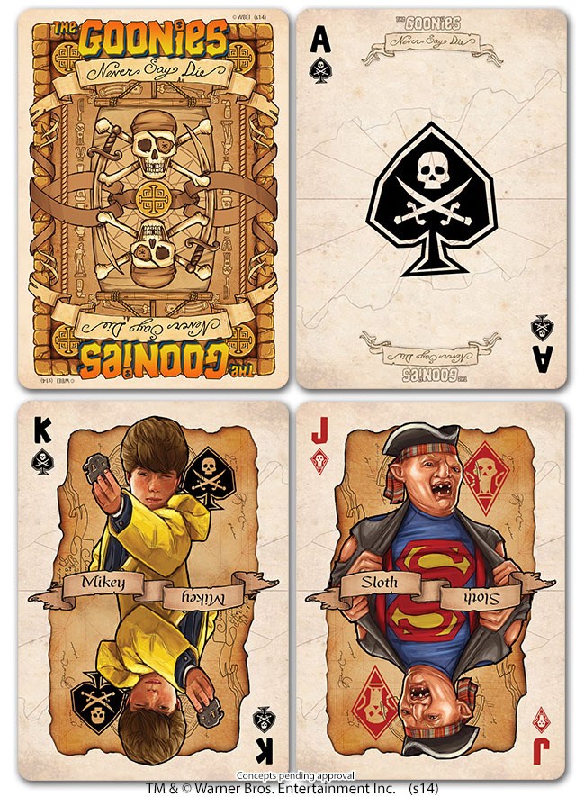The Goonies Cards
