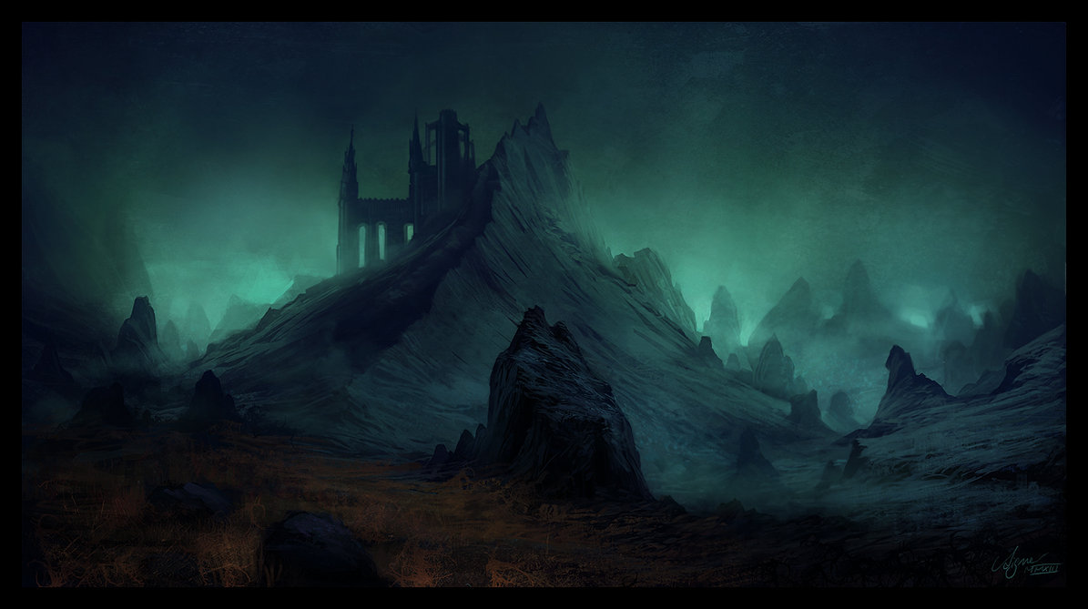 The Incredible Fantasy Landscapes Of Rene Aigner