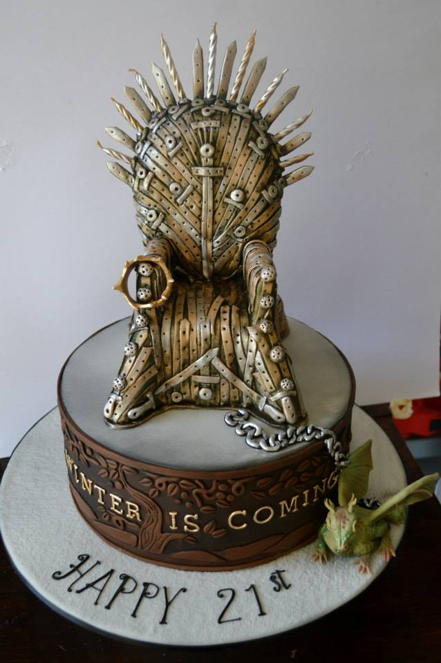 Iron Throne Birthday Treat