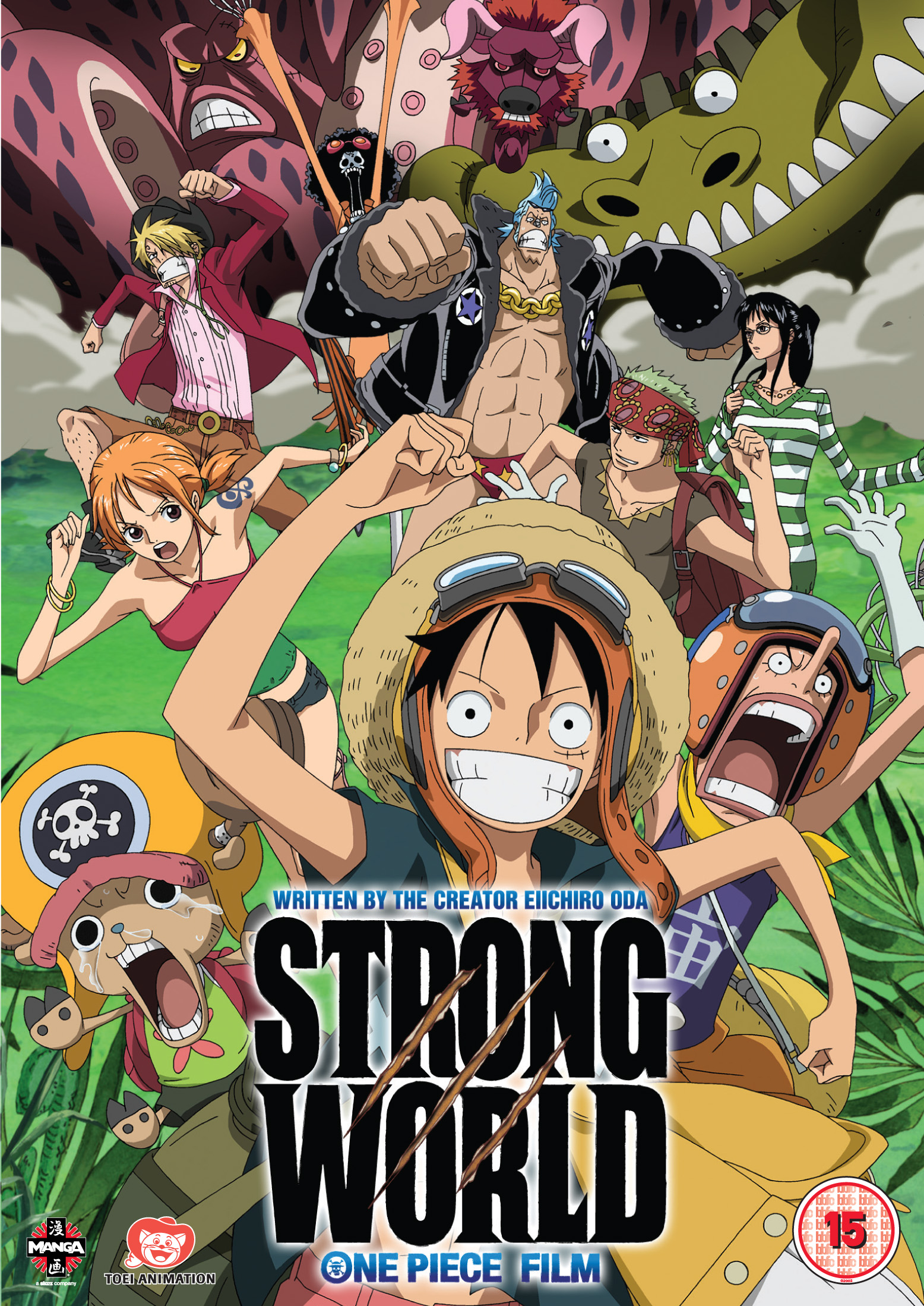 Monstrous: A review of the One Piece Movie – Strong World