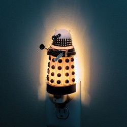 Illuminate! Illuminate! Dalek bedside light