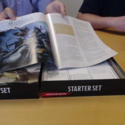 Dungeons & Dragons 5e Starter Set unboxing