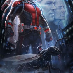Official Ant-Man movie poster
