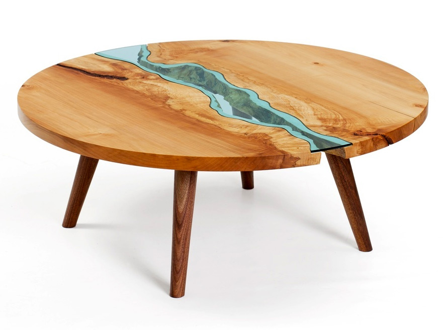 Tabletop RPG perfect? Glass and river cartography tables