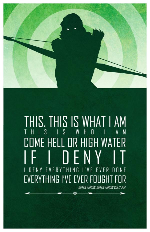 Adam Thompson - Green Arrow