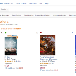 Dungeons & Dragons tops Amazon US's best sellers; Amazon UK has month long delay
