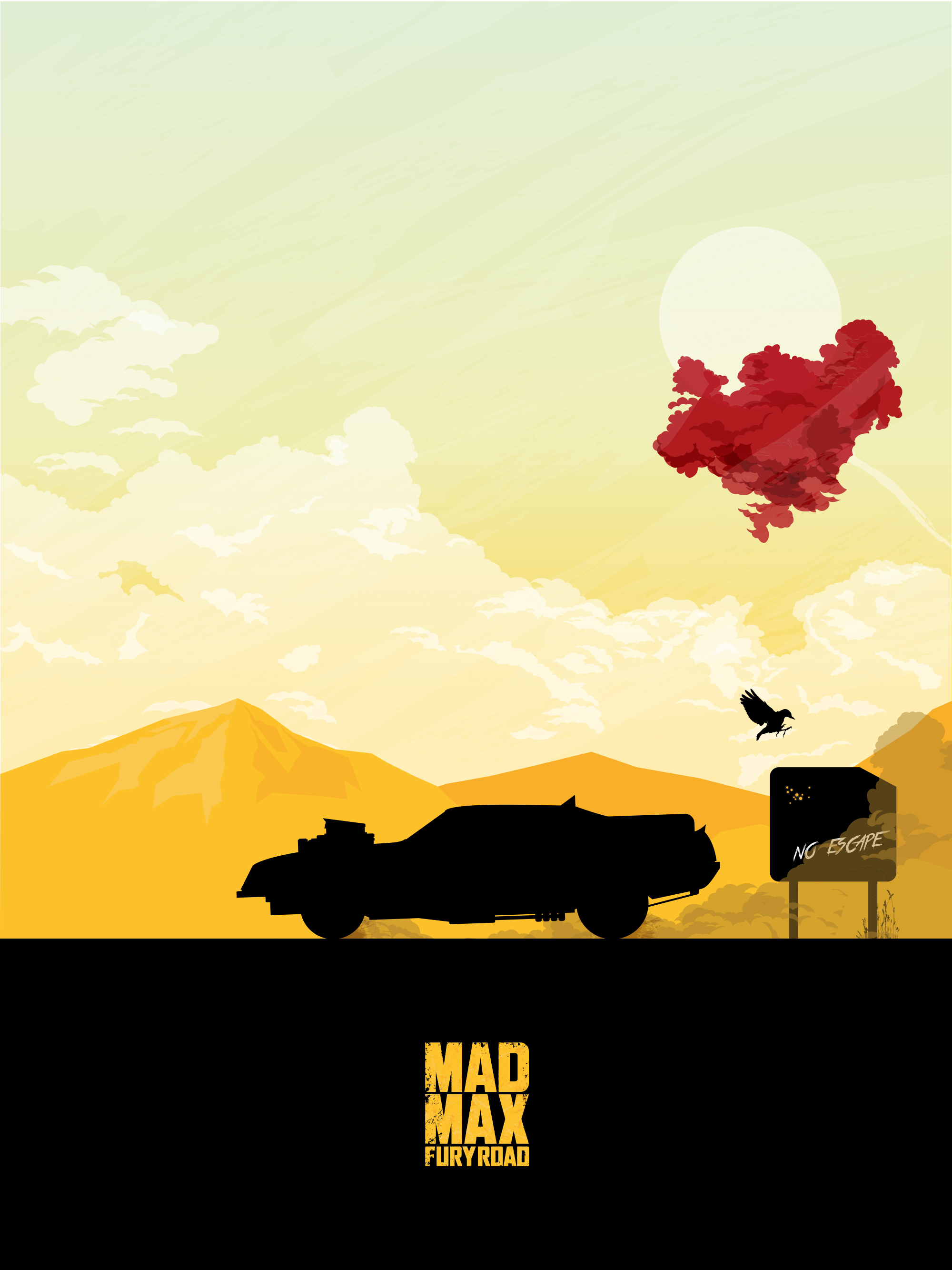 Poster: Mad Max - Fury Road