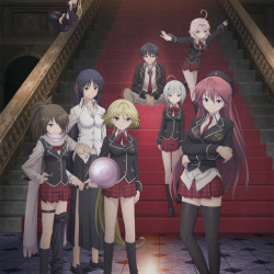 "Warm up for a ""battle comedy"" with the Trinity Seven trailer"