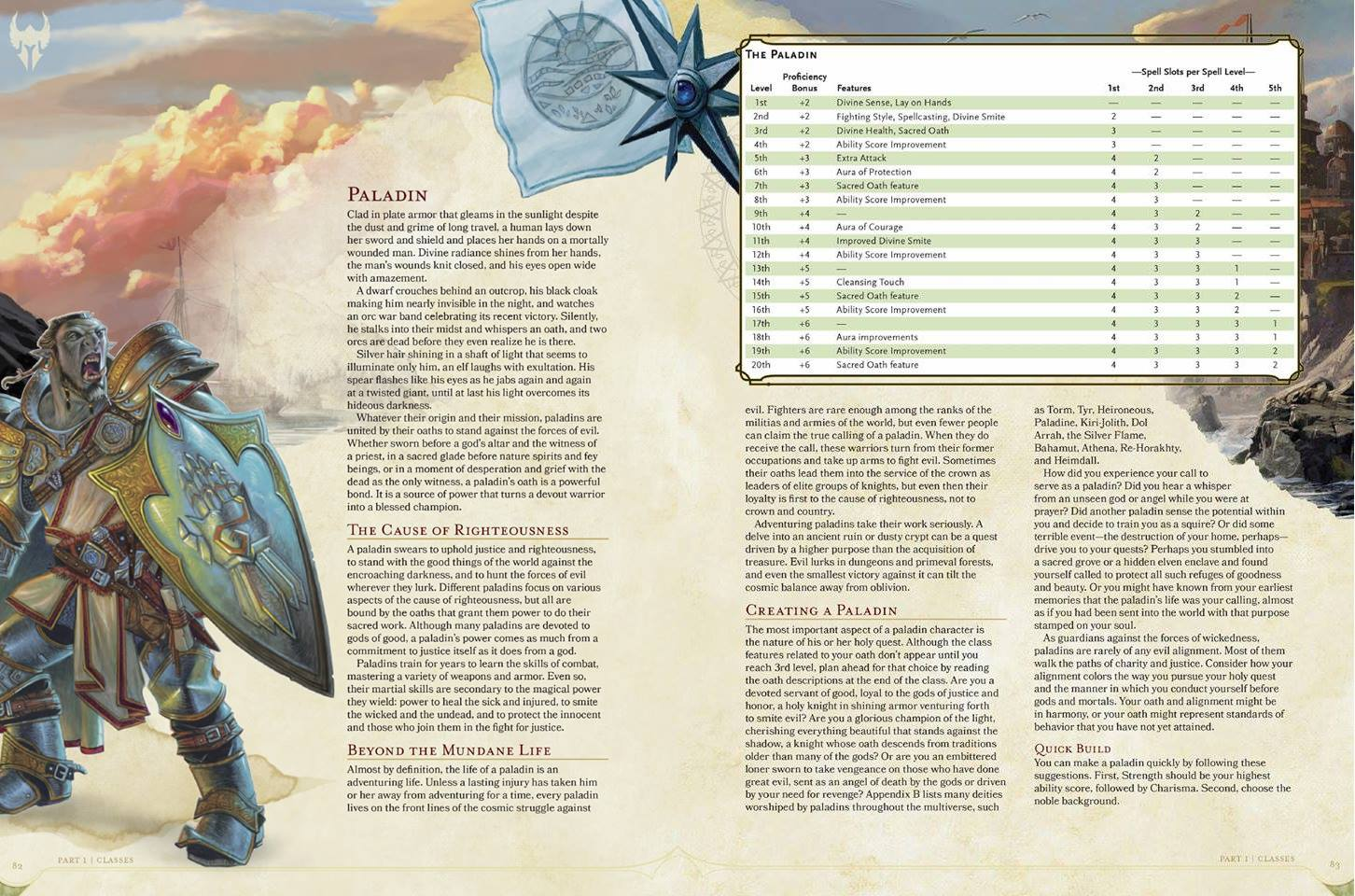 D D 5e Barbarian Paladin And Plenty More Previews
