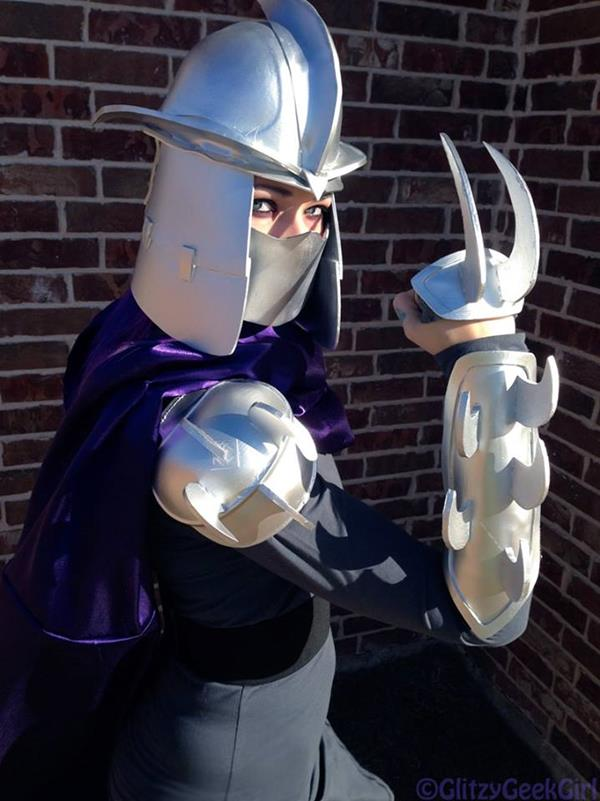 Rule 63 Shredder Cosplay Is One For True Tmnt Fans