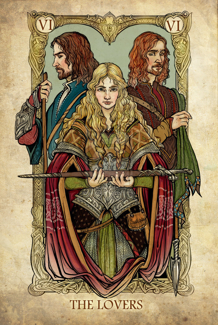 The Lord Of The Rings Tarot Deck