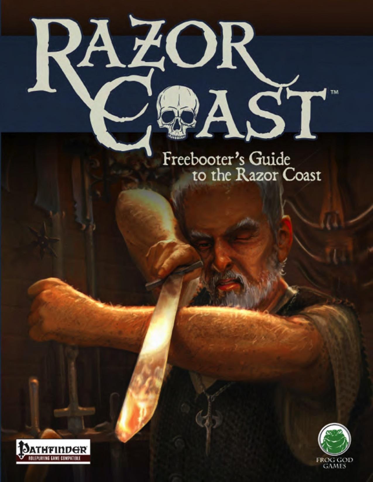 razor coast - freebooters guide