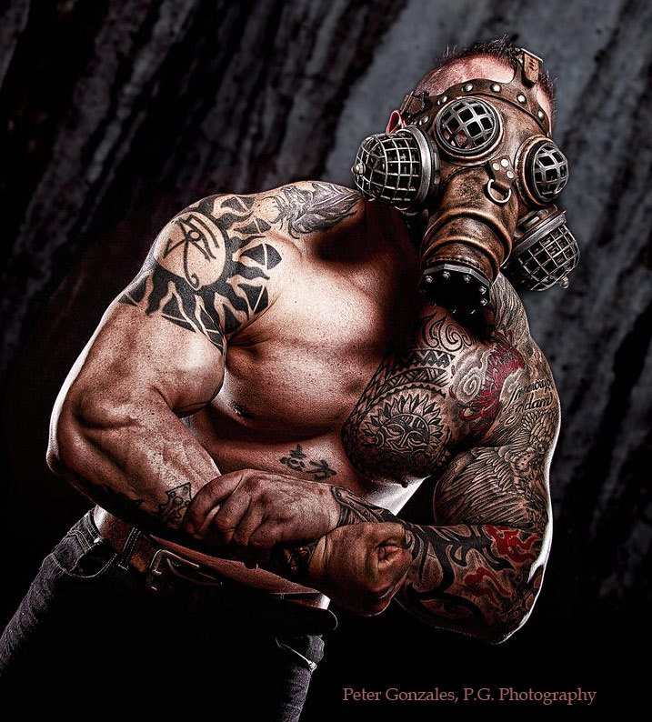 Does the Ragnarok gas mask make you think