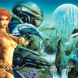 A look inside: The Art of Jim Burns – Hyperluminal