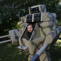 Is this MechWarrior the best Halloween costume for kids we'll see this year?