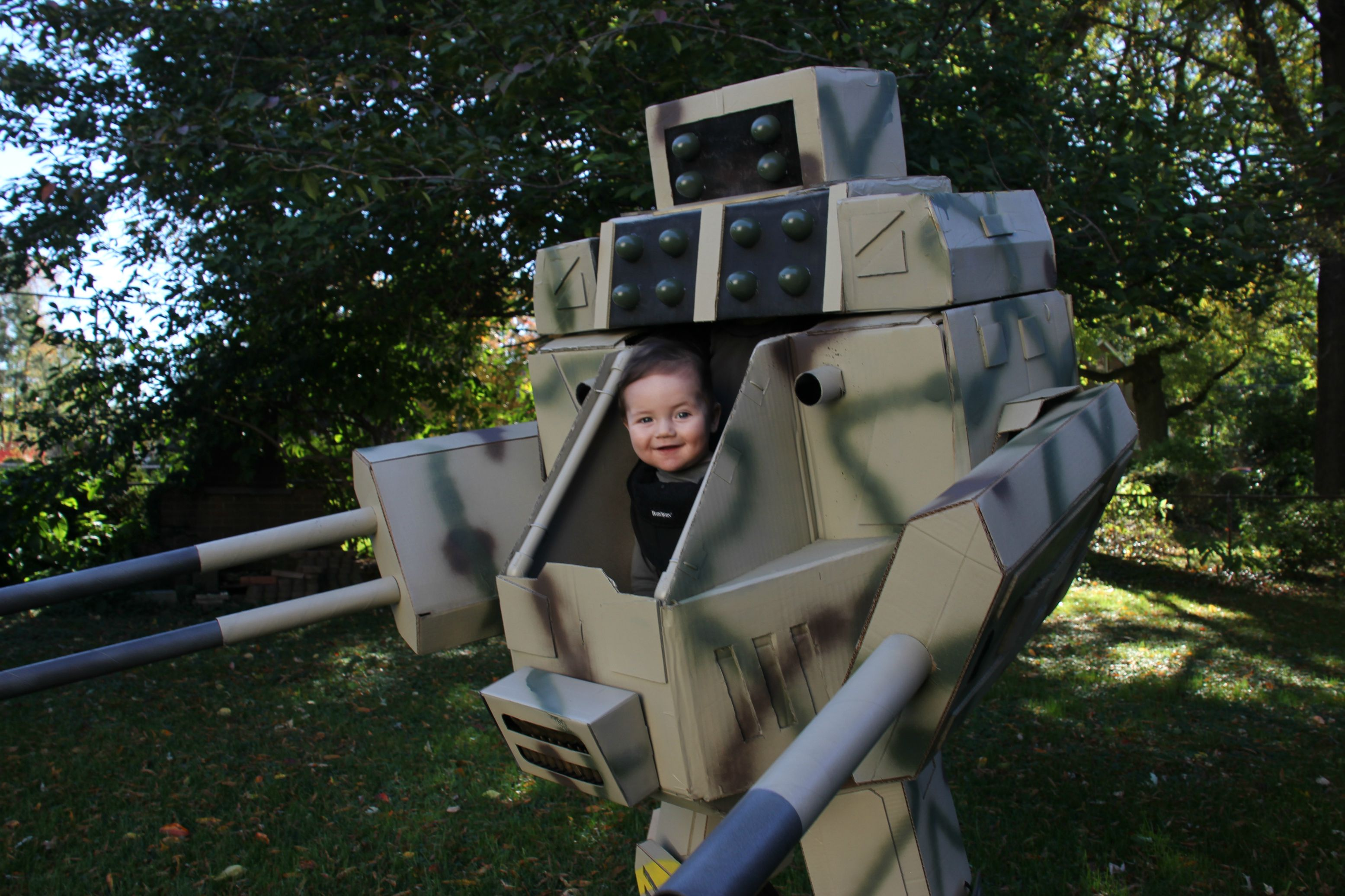 is this mechwarrior the best halloween costume for kids we'll see