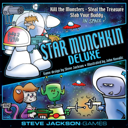 Star Munchkin Deluxe announced by Steve Jackson Games