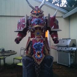 Warhammer Chaos Lord Kranon cosplay