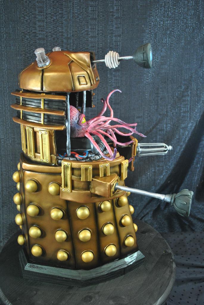 Dalek Cake 5