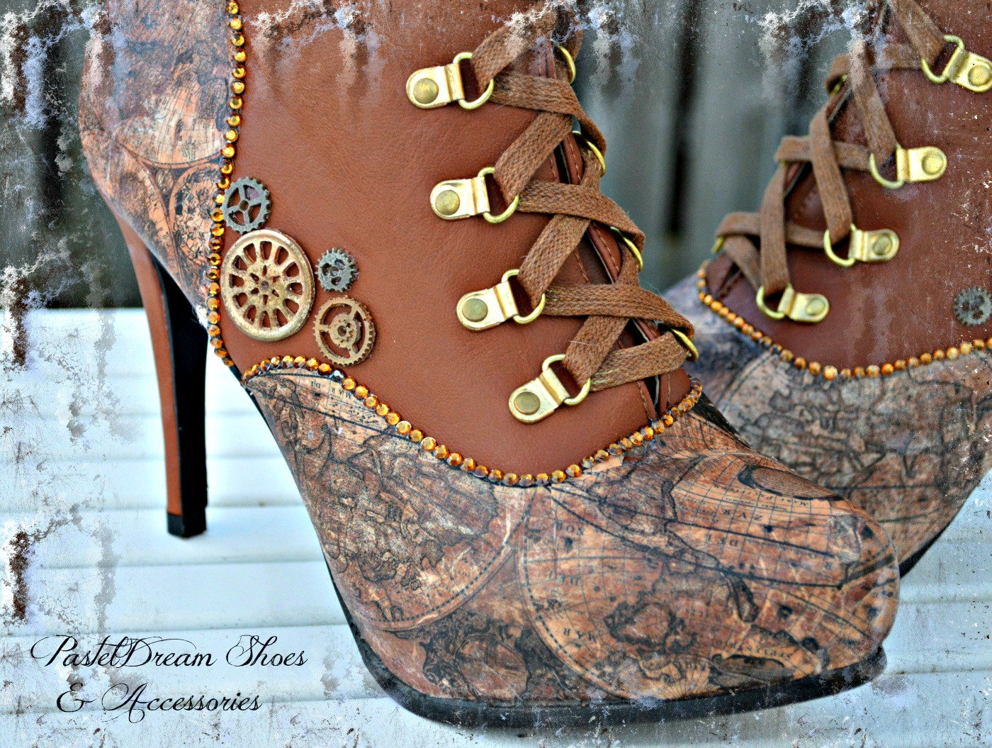 Tradecraft Bonus 7 Sets Of Steampunk Inspired Shoes