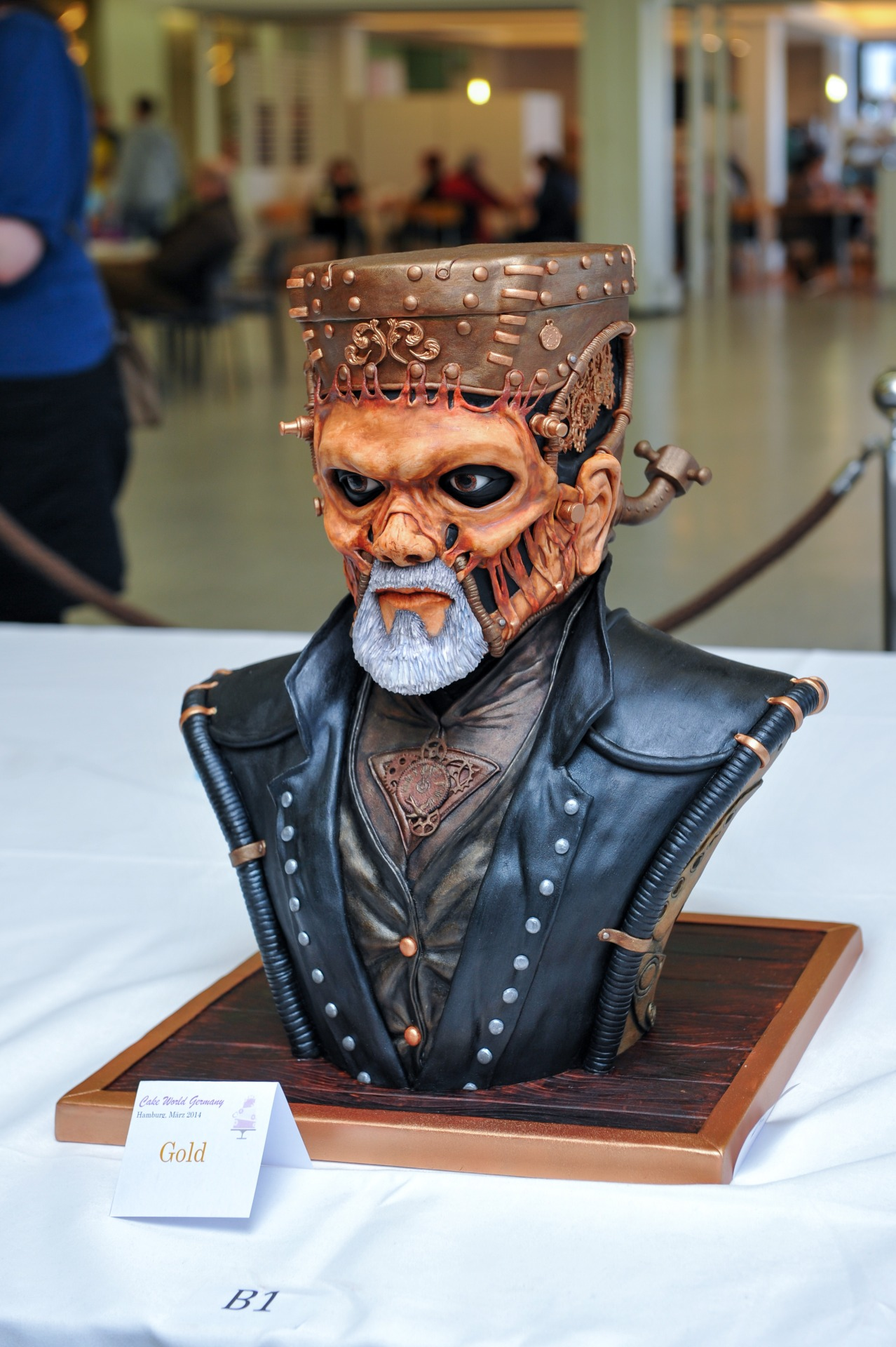 Steampunk Frankenstein Monster 1