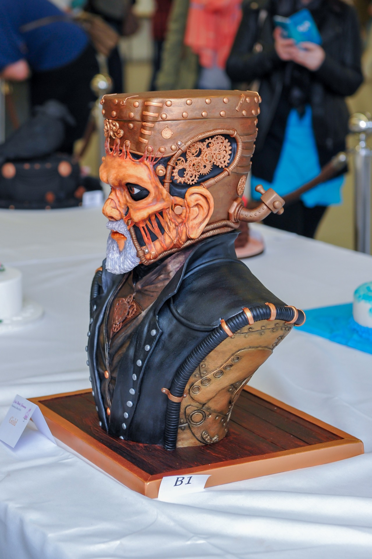 Steampunk Frankenstein Monster 6