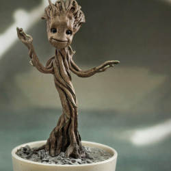 Little Groot is super cute and affordable